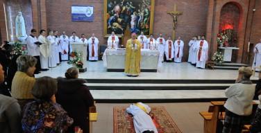 В торжество Христа Царя диакон Денис Марчишин стал священником
