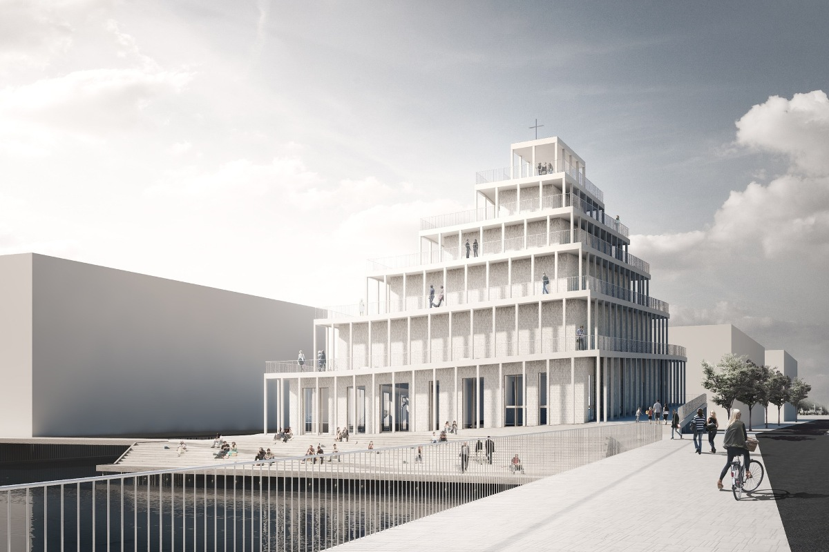 В Копенгагене будет построена первая за последние 30 лет церковь