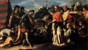 Папа Лев и Гейзерих
