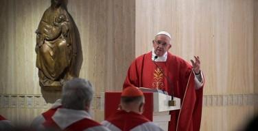 Папа: смерть не страшна, если мы верны Господу
