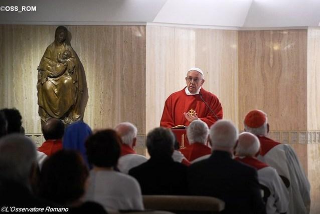 Папа: цивилизация «идола наживы» будет разрушена
