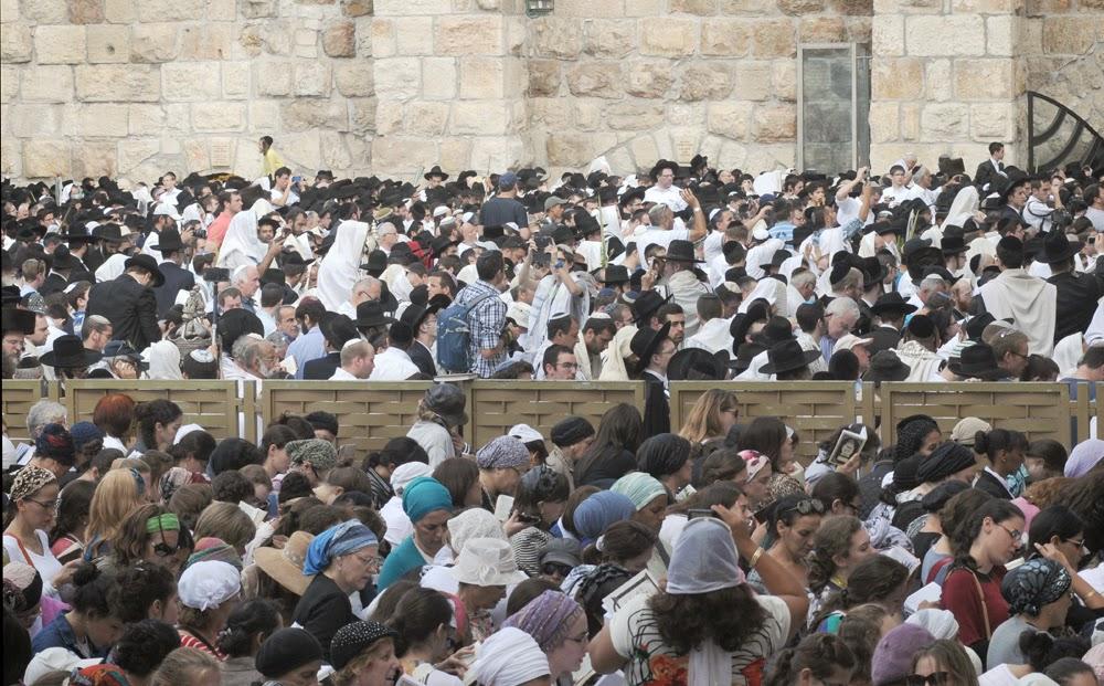У Стены Плача в Иерусалиме произошли беспорядки между приверженцами различных течений в иудаизме