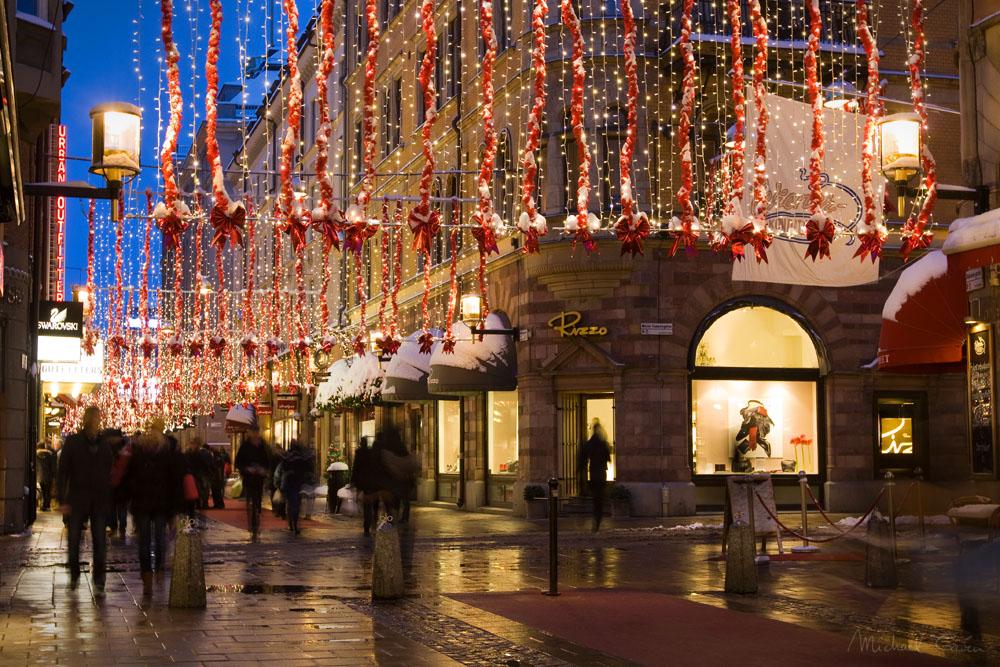 В Швеции запретили Рождественские огни под предлогом «угрозы безопасности»