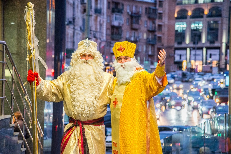 На Украине Деда Мороза заменит Святой Николай