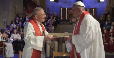 Католическая и Лютеранская Церкви будут стараться устранить препятствия к полному церковному единству