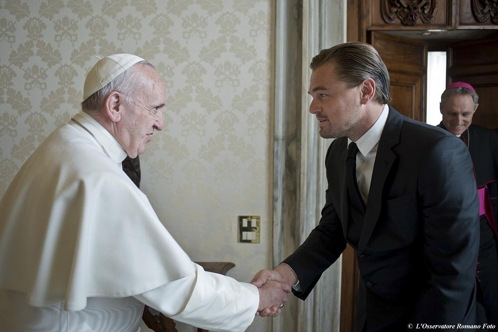 Vatican Pope Di Caprio