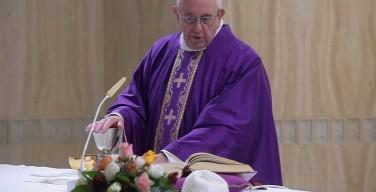 Как победить сопротивление Божьей благодати. Месса Папы Франциска 1 декабря