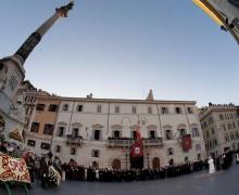 Молебен Пресвятой Богородице на Испанской площади