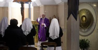 Папа: иметь страх Господень не значит бояться