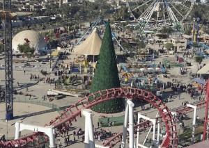 Mideast Iraq Christmas Tree