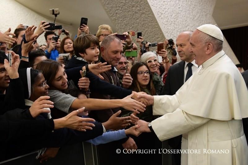 Папа: надежда на Бога никогда не подводит