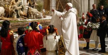 Проповедь Папы Франциска во время Мессы Рождества Господнего: прийти ко Христу