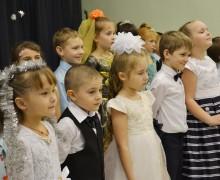 Рождественский праздник в Католической школе Новосибирска