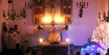 Празднование Рождества в приходах Преображенской епархии