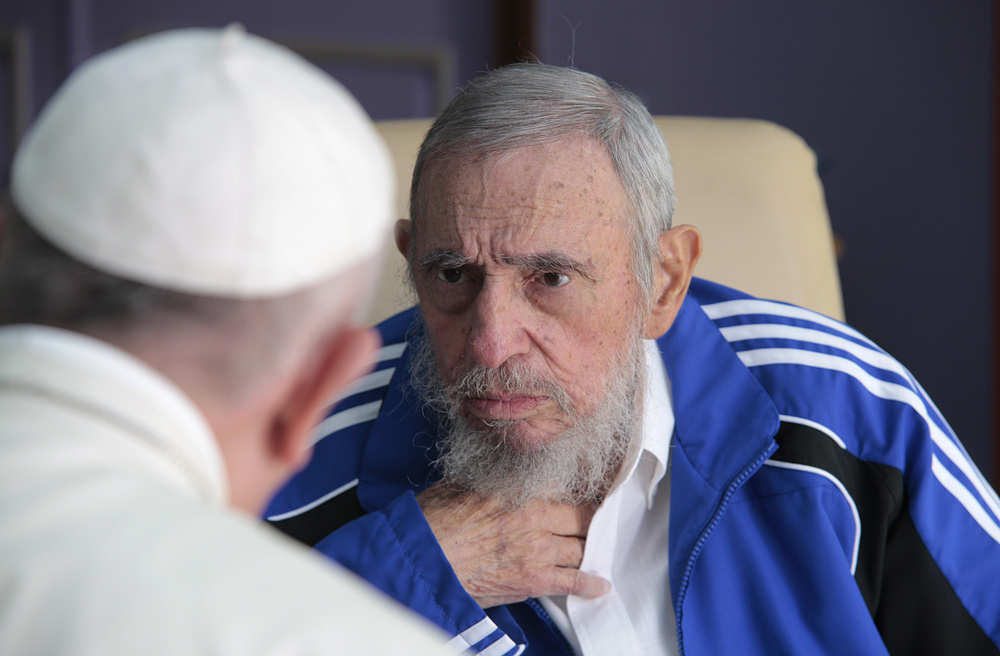 Pope Francis, Fidel Castro
