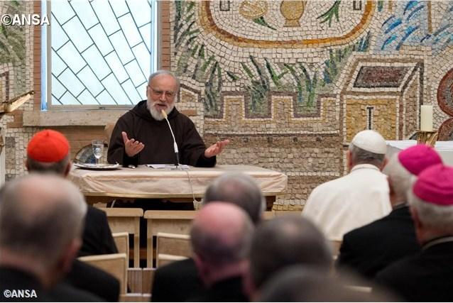 Четвертая предрождественская проповедь о. Канталамессы