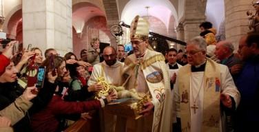 Рождество на Святой Земле. Архиепископ Пиццабалла: откроем двери и встретимся с братьями
