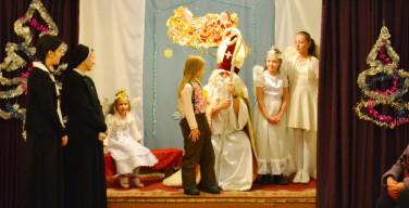 Святой Николай уже пришел к ребятам левобережья Новосибирска