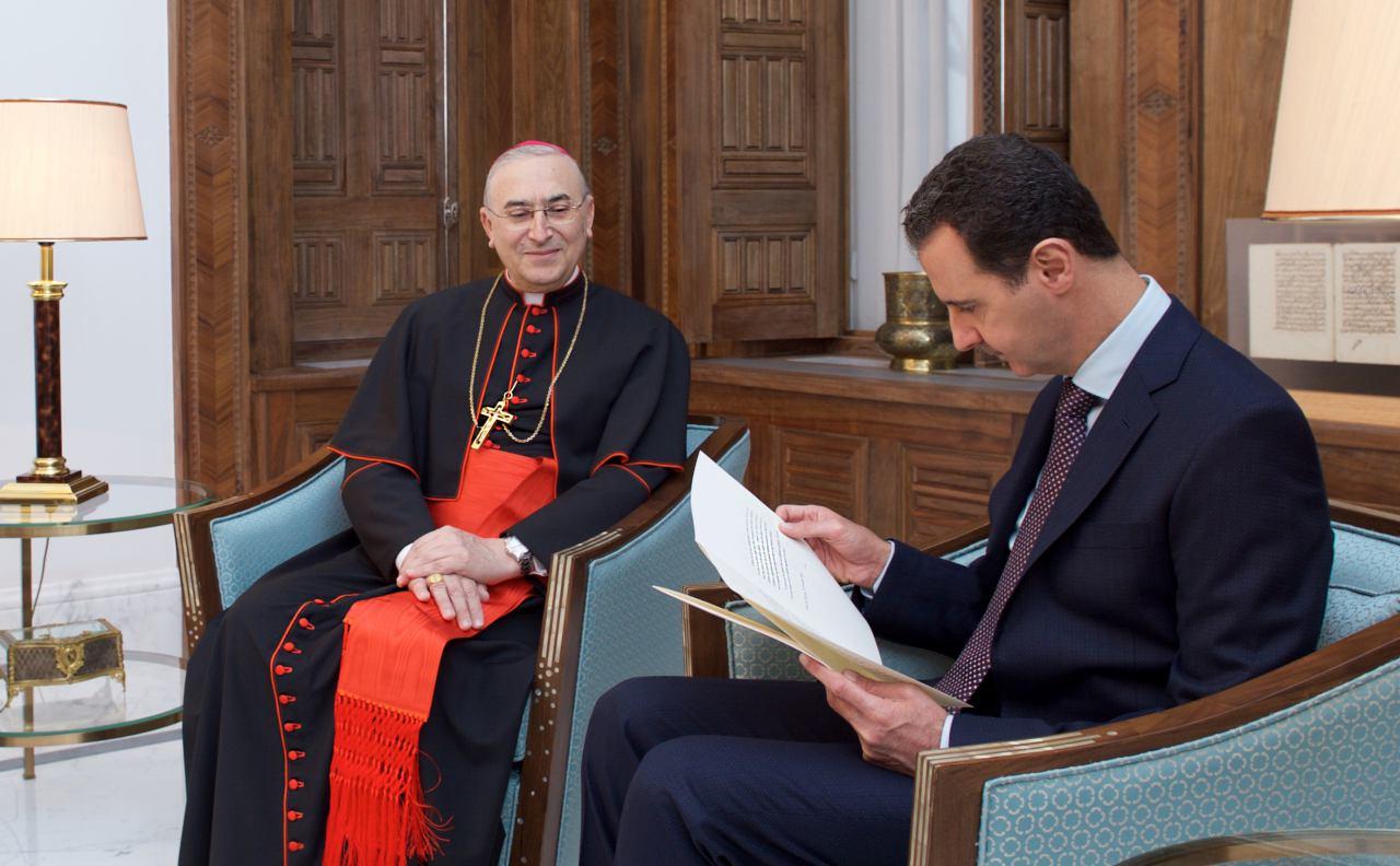 Папа Франциск в послании Асаду выразил поддержку Сирии и её народу