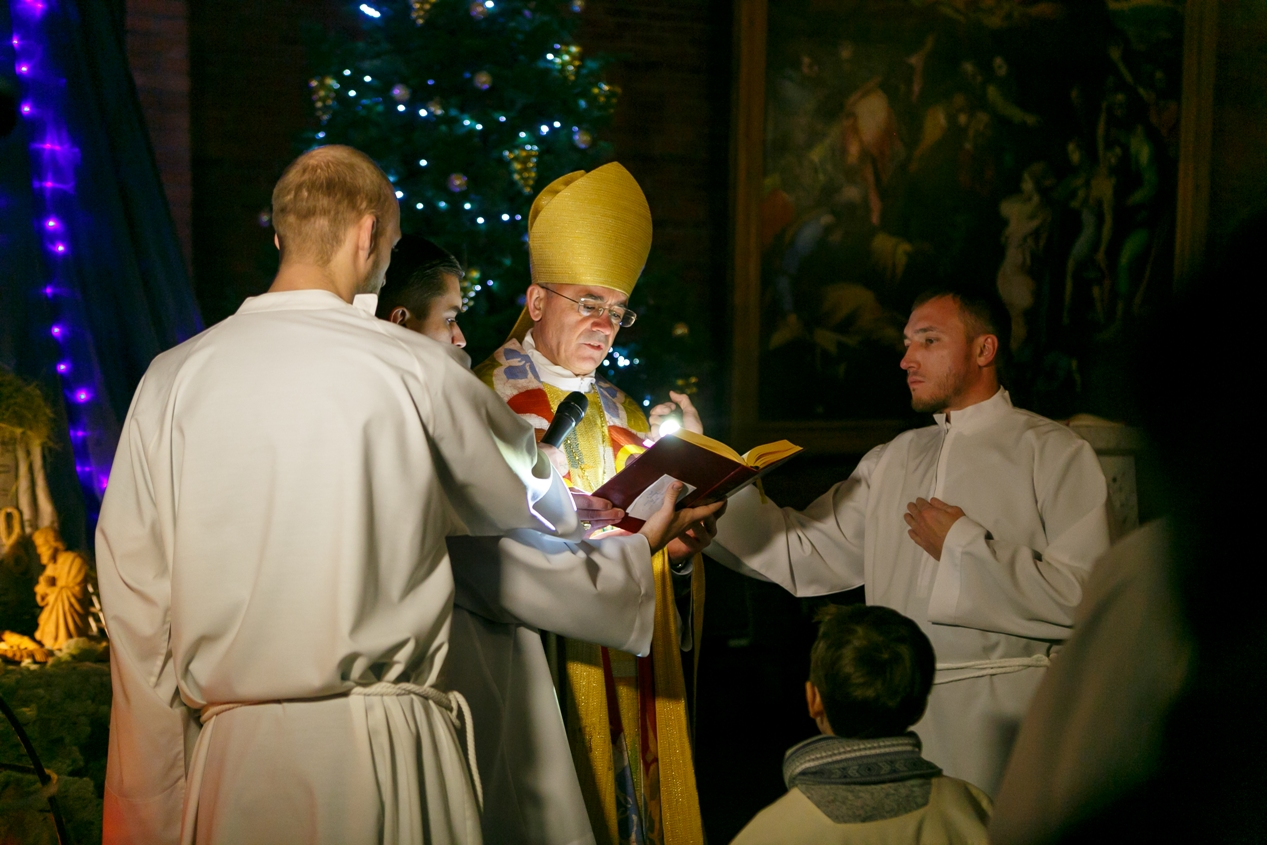 Великое торжество Боговоплощения — Рождественская ночь в Кафедральном соборе Новосибирска