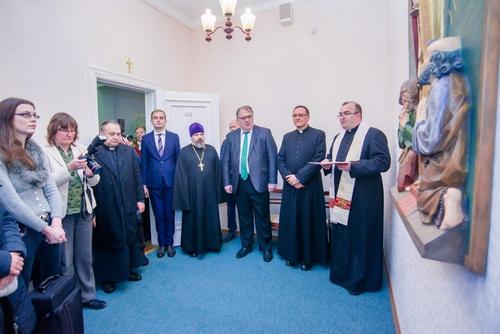 В латвийском вузе открыли экуменическую капеллу