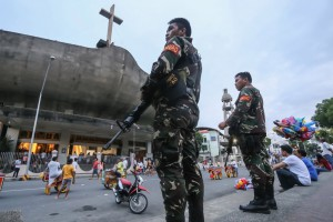 PHILIPPINES-UNREST-BLAST