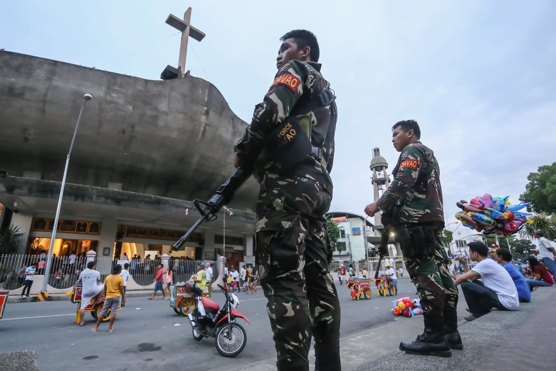 Филиппины: покушение на католическую церковь