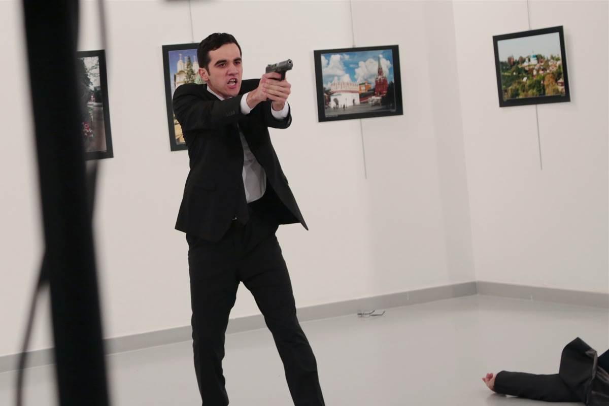 Своими глазами. Рассказы свидетелей убийства российского посла Карлова