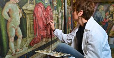 Ватикан: близится к завершению реставрация аппартаментов Борджиа