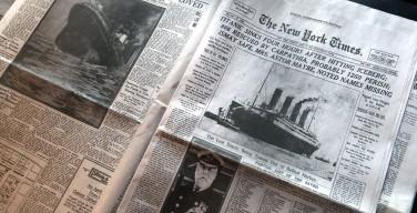 СМИ: Причиной крушения «Титаника» стало возгорание топливного хранилища