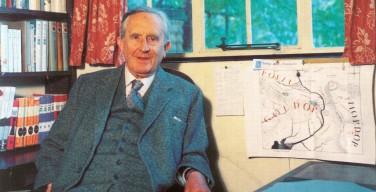 Лист работы Толкина (к 125-летию со дня рождения писателя)