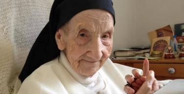 Старейшей доминиканской монахине исполнилось 110 лет