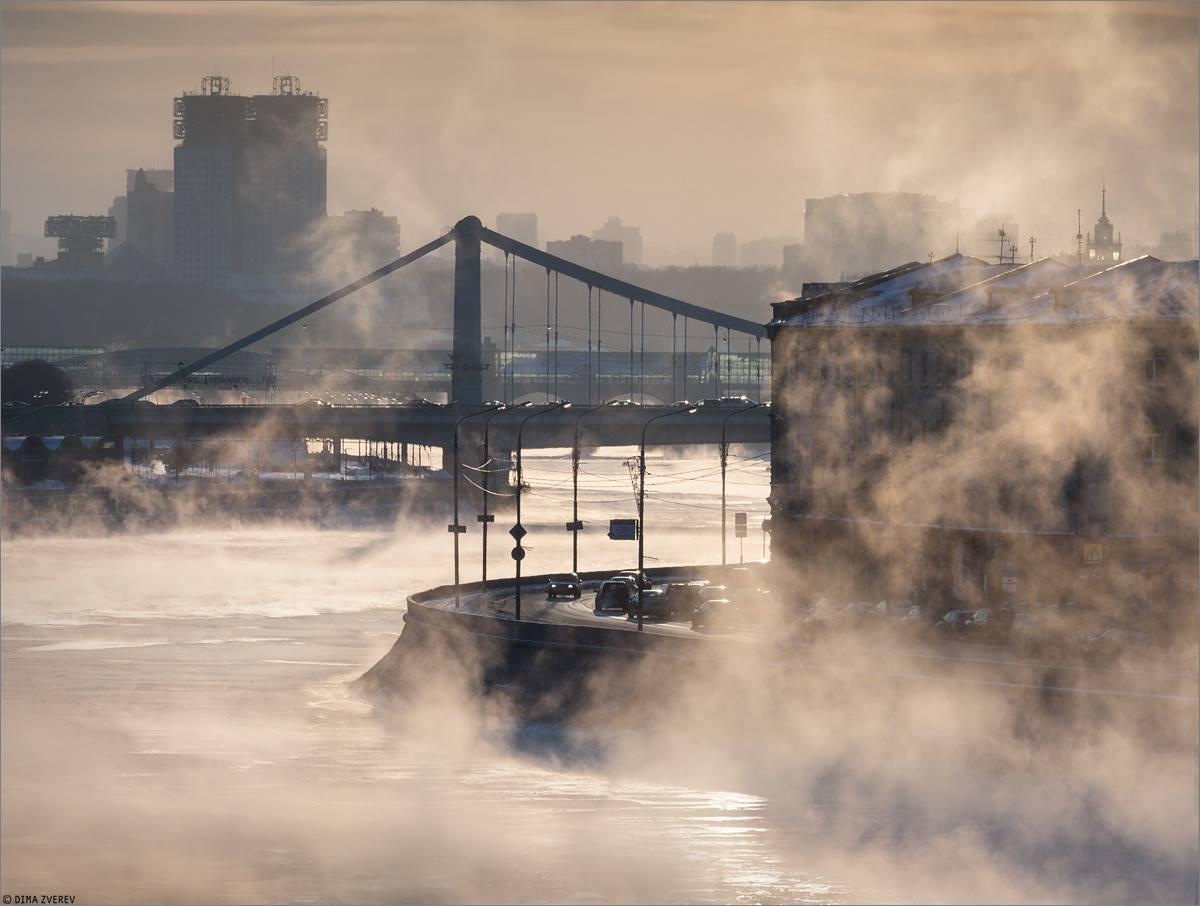 Рождественская ночь в Москве стала самой холодной в XXI веке