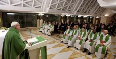 Папа: христиане должны отказаться от ментальности осуждения