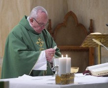 Папа: христианская жизнь — это ежедневная борьба с искушениями