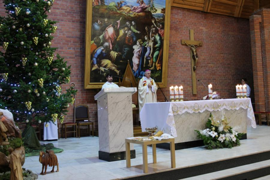 Торжество Богоявления в Кафедральном соборе Новосибирска