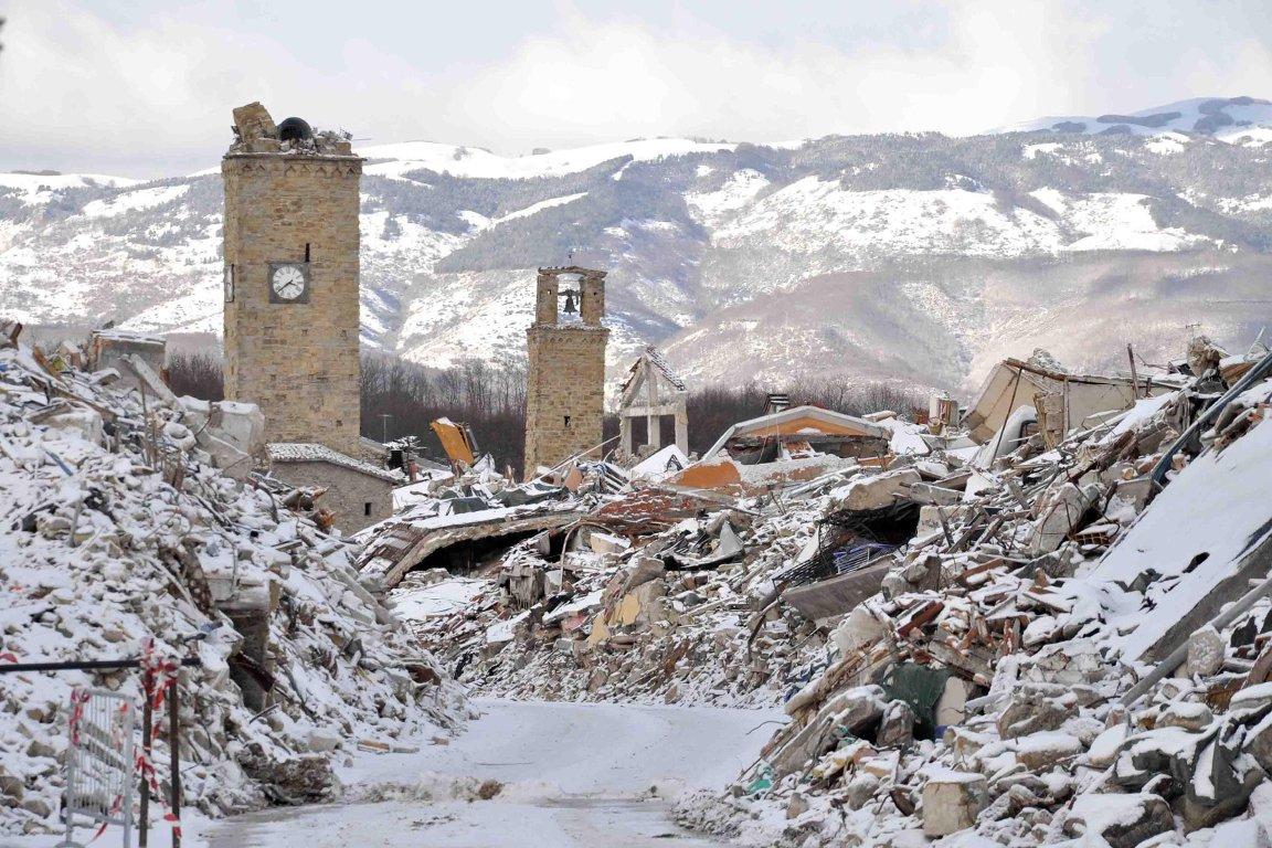 В Италии произошли три новых мощных землетрясения