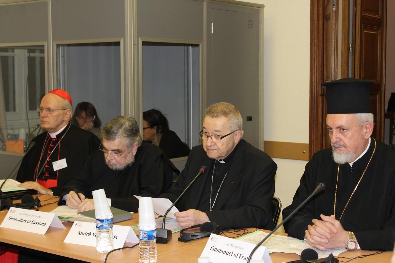 Архиепископ Павел Пецци о V Европейском католическо-православном форуме в Париже