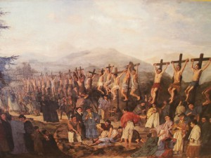 Японские мученики, распятые в Нагасаки