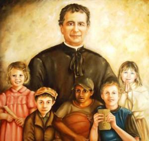 Дон Боско и дети