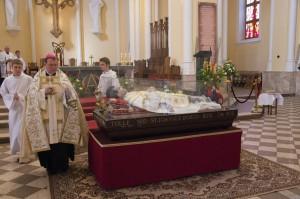 Паломничество мощей св. Иоанна Боско