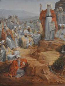 Святой Антоний в окружении учеников