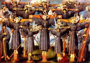 Святой Павел Мики и сподвижники