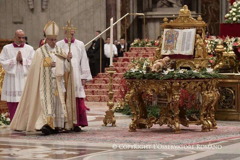 Te Deum. Папа: нужно возвратить надежду молодёжи — мы перед ней в долгу