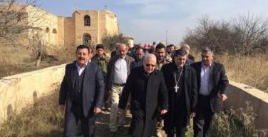 Ирак: Патриарх Сакко посетил освобождённую долину Ниневии