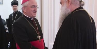 Апостольский нунций в РФ посещает Саратов