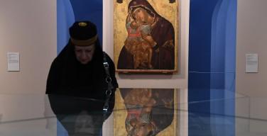 В Третьяковской галерее открылась выставка «Шедевры Византии»