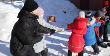 Карнавал с блинами у отцов-францисканцев в Новосибирске