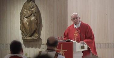 Папа: христианин — раб любви, а не долга