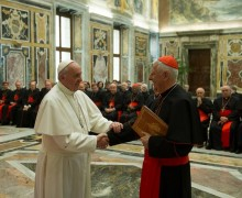 Папа: католическое образование призвано открывать горизонты трансцендентности